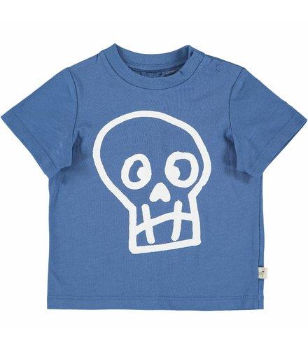 Stella McCartney Kids Chuckle T Shirt W/Skull Pr