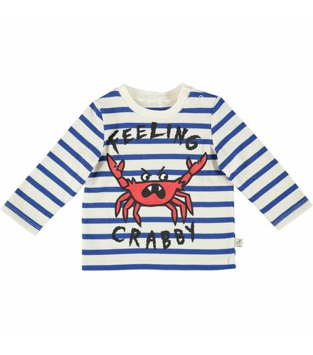 Stella McCartney Kids Ted T Shirt W/Feeling Crabby Pr