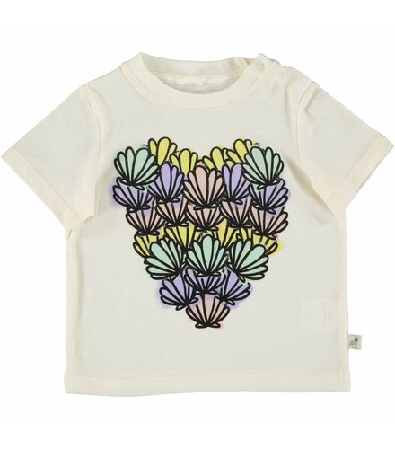 Stella McCartney Kids Chuckle T Shirt Cloud Shells