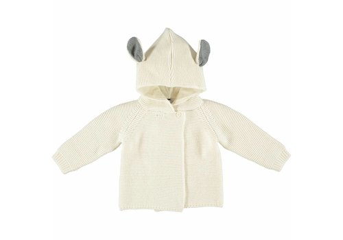 Stella McCartney Kids Smudge Cardigan Cloud