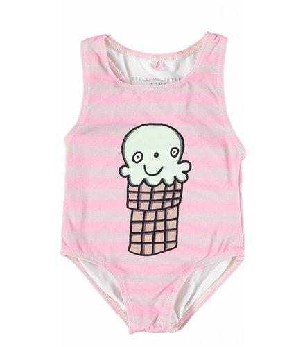 Stella McCartney Kids Molly Swimwear Lilac/Pink
