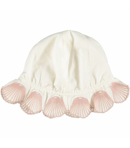 Stella McCartney Kids Dolores Baby Hat Shells