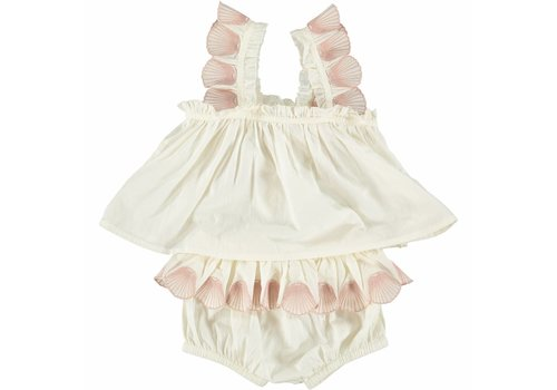 Stella McCartney Kids Nena Baby Top W/Bloo