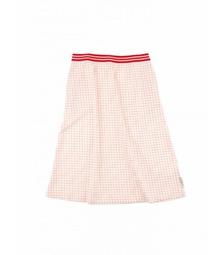 Tiny Cottons Grid mid-length skirt 035