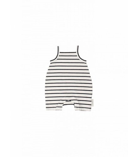 Tiny Cottons Small stripes SL short onepiece
