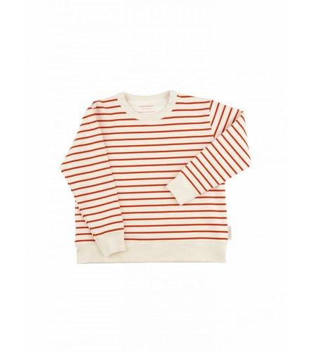 Tiny Cottons Small stripes FT sweatshirt 090