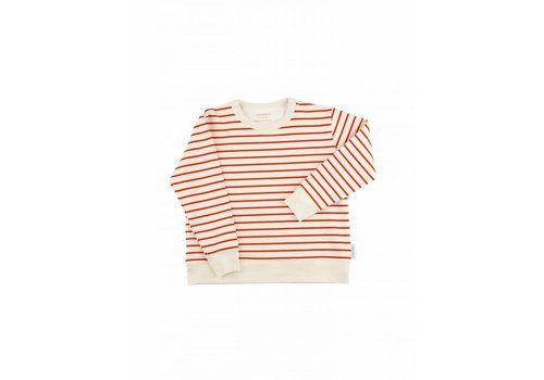 Tiny Cottons Small stripes FT sweatshirt 090