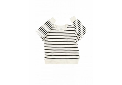 Tiny Cottons Small stripes FT sweatshirt 096