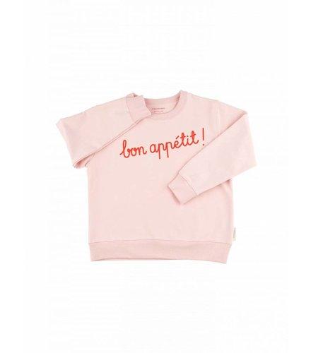 Tiny Cottons Bon appétit ! graphic FT sweatshirt