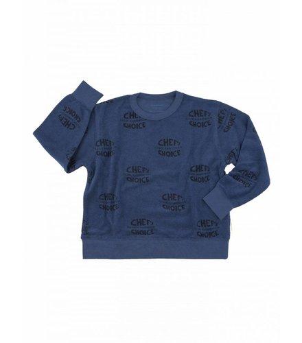 Tiny Cottons Club sandwich towel sweatshirt
