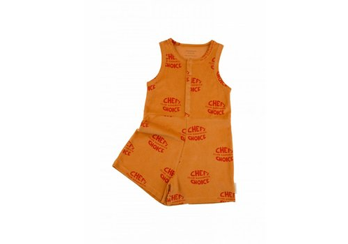 Tiny Cottons Club sandwich towel short onepiece