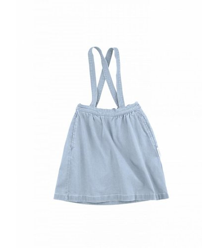 Tiny Cottons Denim braces skirt
