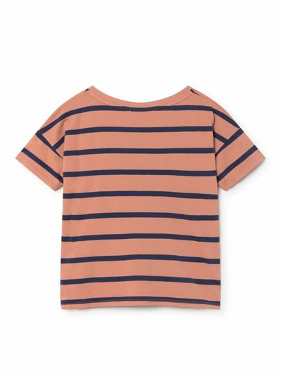BOBO CHOSES Breton Stripes Short Sleeve T-Shirt