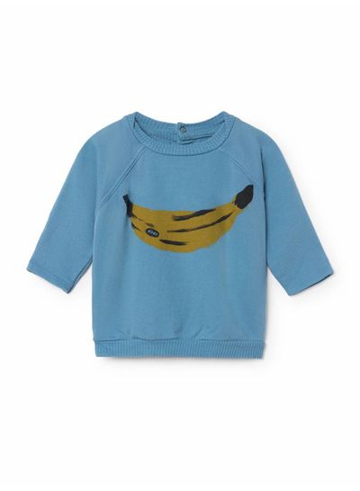 BOBO CHOSES Banana Long  Sleeve Sweatshirt