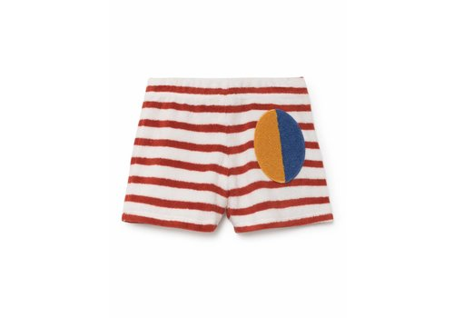 BOBO CHOSES Stripes Terry Shorts