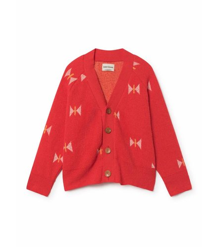 BOBO CHOSES Butterfly Knitted Cardigan