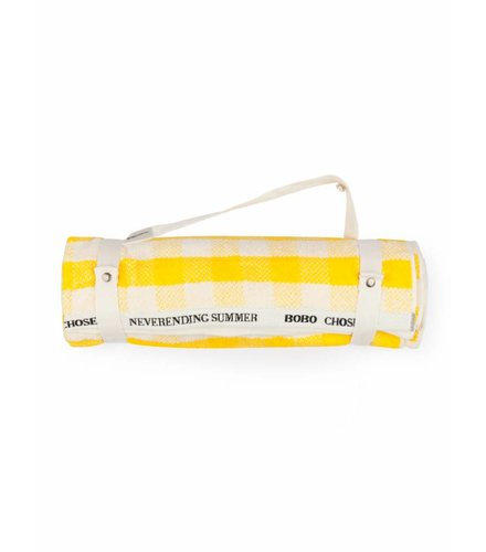 BOBO CHOSES Yellow Vichy Towel