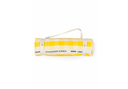 BOBO CHOSES Yellow Vichy Towel