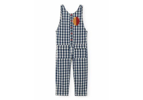 BOBO CHOSES Vichy Baggy Jumpsuit