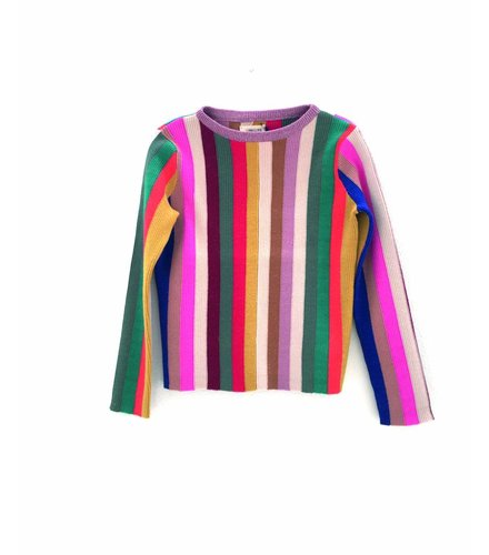 Long Live the Queen Vertical stripe sweater