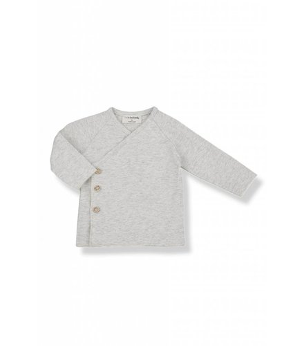 1 + More in the Family NOVI newborn shirt natural