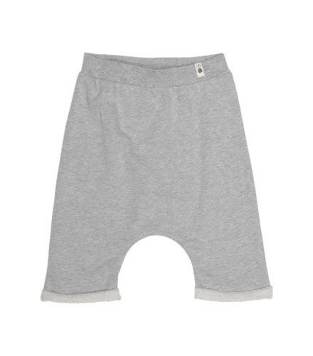 POPUPSHOP Baggy Shorts Grey Melange
