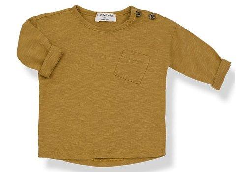 1 + More in the Family JASPER long sleeve t-shirt mustard