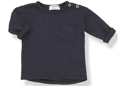 1 + More in the Family JASPER long sleeve t-shirt blu  notte