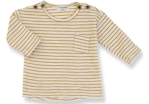 1 + More in the Family RENOIR long sleeve t-shirt mustard