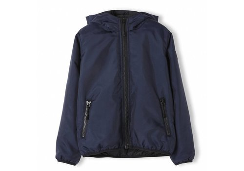 Finger in the nose Buckley Super Navy - Unisex Woven Hooded Wind Breaker