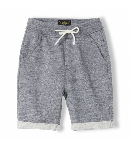 Finger in the nose Grounded Heather Charcoal - Boy Knitted Fleece Comfort Fit Bermudas