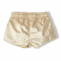 Holiday Gold Metal - Girl Knitted Shorts
