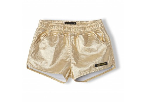 Finger in the nose Holiday Gold Metal - Girl Knitted Shorts