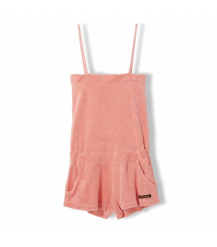 Finger in the nose Liv Milky Pink - Gilrl Knitted Sleevless Short Overall