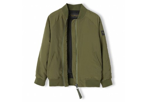Finger in the nose Pretender Khaki - Boy Varsity Jacket