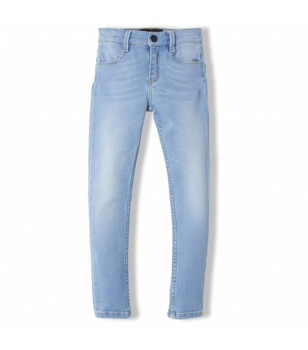 Finger in the nose Tama Bleached Blue - Girl Woven Skinny Fit Jeans