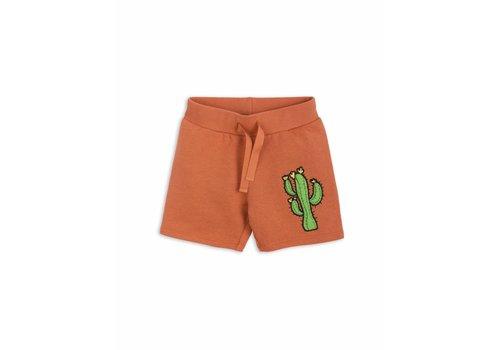 Mini Rodini Donkey Cactus Sweatshorts Orange