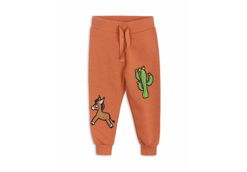 Mini Rodini Donkey Cactus Sweatpants Orange