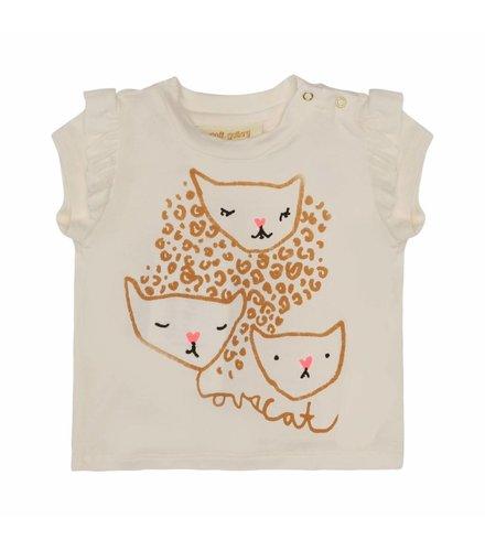 Soft Gallery Sif T-shirt Gardenia, Wildcat
