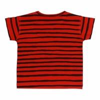Baby Ashton T-shirt Flame Scarlet, AOP Ribbon Big