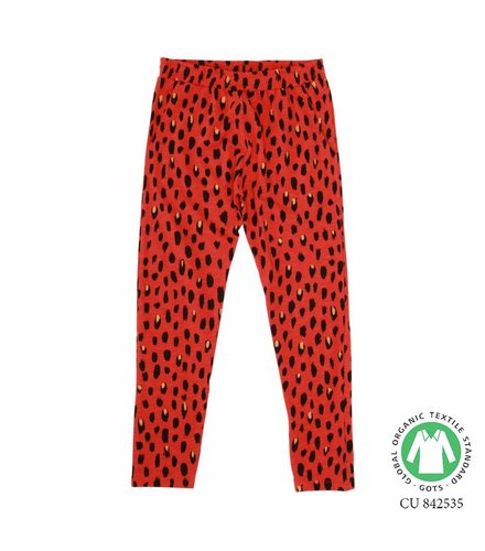 Soft Gallery Chantay Pants Flame scarlet, AOP Pebbles Mega