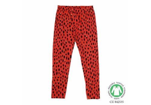 Soft Gallery Chantay Pants Flame scarlet, AOP Pebbles Mega