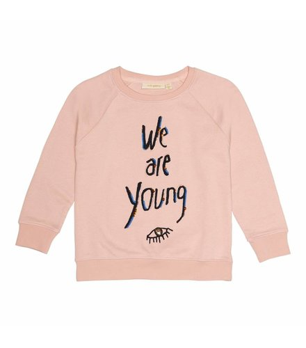 Soft Gallery Chaz Sweatshirt Rose cloud, Young Emb.