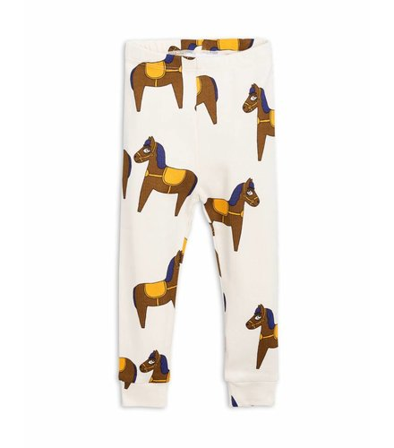 Mini Rodini Horse Leggings Yellow