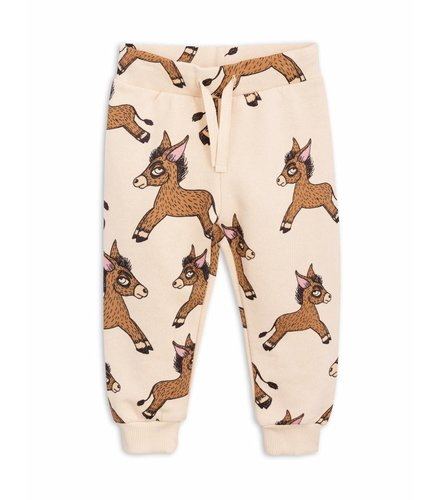 Mini Rodini Donkey Aop Sweatpants Beige