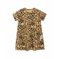 Basic Leopard Dress Beige
