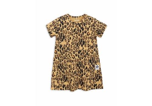 Mini Rodini Basic Leopard Dress Beige