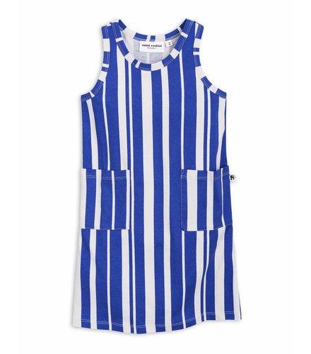 Mini Rodini Odd Stripe Tank Dress Blue