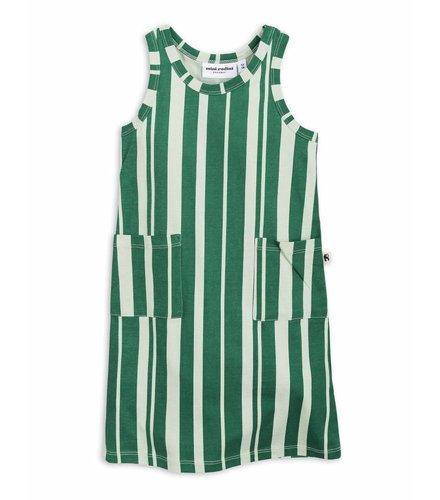 Mini Rodini Odd Stripe Tank Dress Green