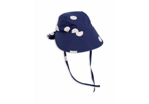 Mini Rodini Dot Sun Cap Navy